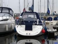 Bavaria 30 Cruiser - Bavaria 30 Cruiser Cockpit Enclosure fitted to CJ Sprayhood shown with ...