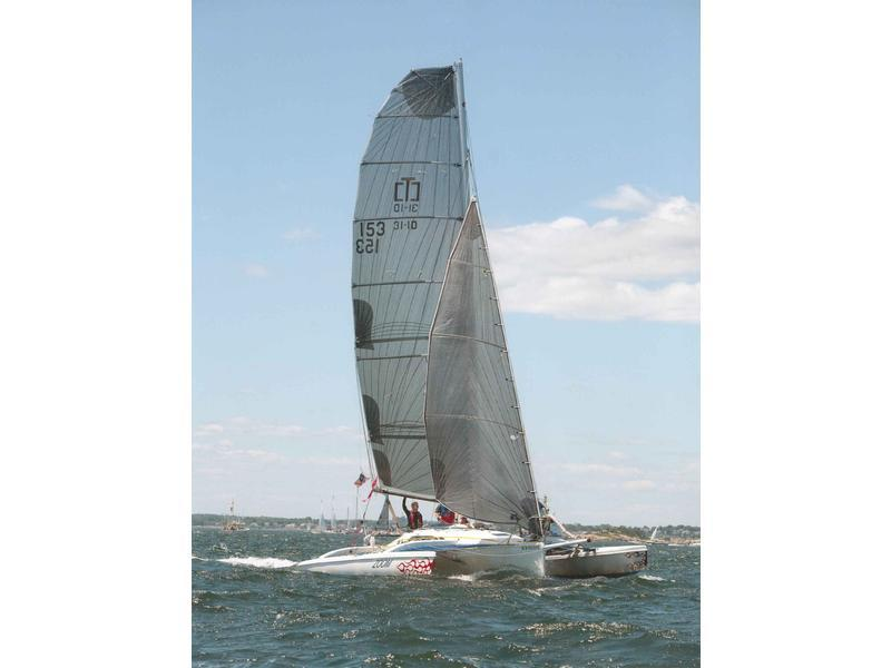 Corsair F31-1D - 1990 sailing trimaran for sale - Sale info